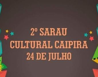 Companhia no Palco promove Sarau Cultural Caipira no sábado