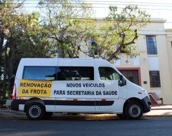 Novo veículo da Saúde será utilizado no transporte de pacientes do SUS