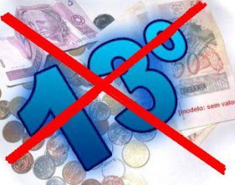 Servidores municipais ficam sem 13º salário pela segunda vez