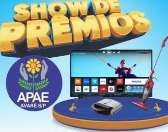 APAE de Avaré promove Show de Prêmios