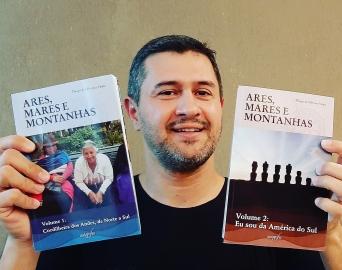 """Escritor avareense lança o livro """"Eu Sou da América do Sul"""""""