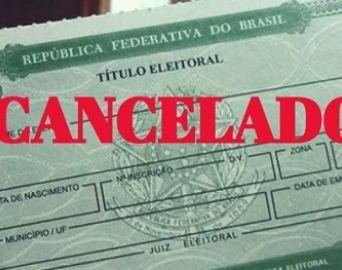 Justiça cancela mais de 1,3 mil títulos eleitorais em Avaré
