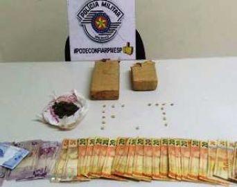 Dois são presos por tráfico na Vila Esperança