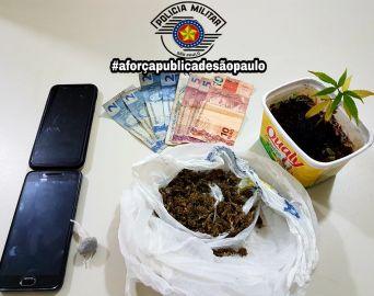 Procurado pela Justiça é preso por tráfico de drogas em Avaré