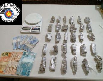 Homem é preso no Duílio Gambini por tráfico de drogas