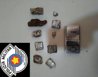 Polícia Militar prende traficante de drogas em Avaré