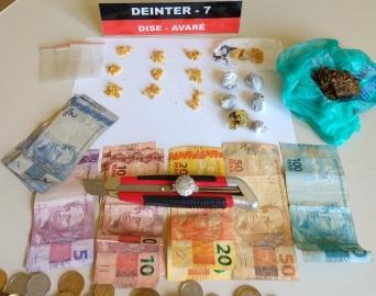 Dupla é presa em flagrante por tráfico de drogas na Vila Esperança