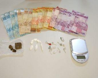 Polícia Civil prende homem por tráfico de drogas na Vila Martins II