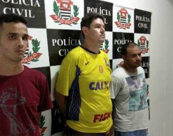 Polícia Civil prende três envolvidos com o tráfico