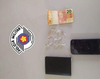 PM prende dois traficantes nos bairros Bonsucesso e Jurumirim