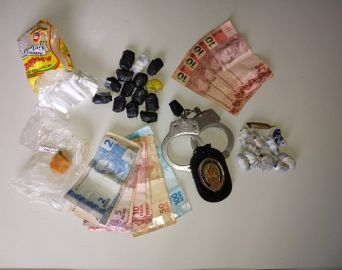 Polícia Civil prende casal por tráfico de drogas no Bonsucesso