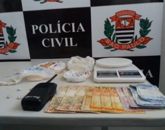Polícia prende estudante em flagrante por tráfico de drogas