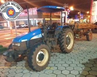 Polícia Militar recupera equipamento agrícola furtado em Arandu