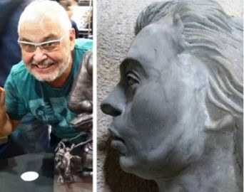 Fernandes fará escultura de Djanira para doar ao município