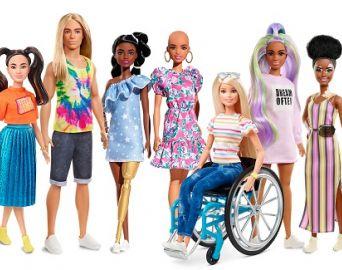 Em 2020, Barbie lança bonecas com vitiligo e careca