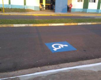 Vagas para idosos e deficientes no novo Pronto Socorro ficam do outro lado da avenida