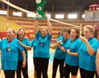 Vôlei feminino adaptado é campeão da Liga de Bauru