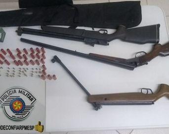 Homem é preso na zona rural por posse ilegal de arma de fogo