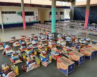 Shopping Botucatu doa mais de 800 quilos de alimentos