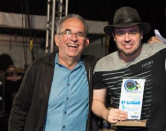 Músico avareense Wilsinho Teixeira vence o 18º Festival de Pereira Barreto