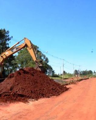 Prefeitura inicia obras da Avenida Santa Bárbara
