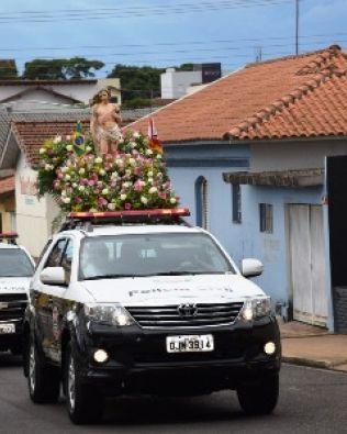 Policiais de Avaré preparam festa para São Sebastião com carreata e missa
