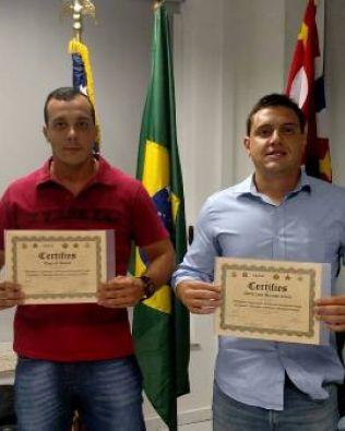 Policiais civis participam de curso contra fraudes Brasil & EUA